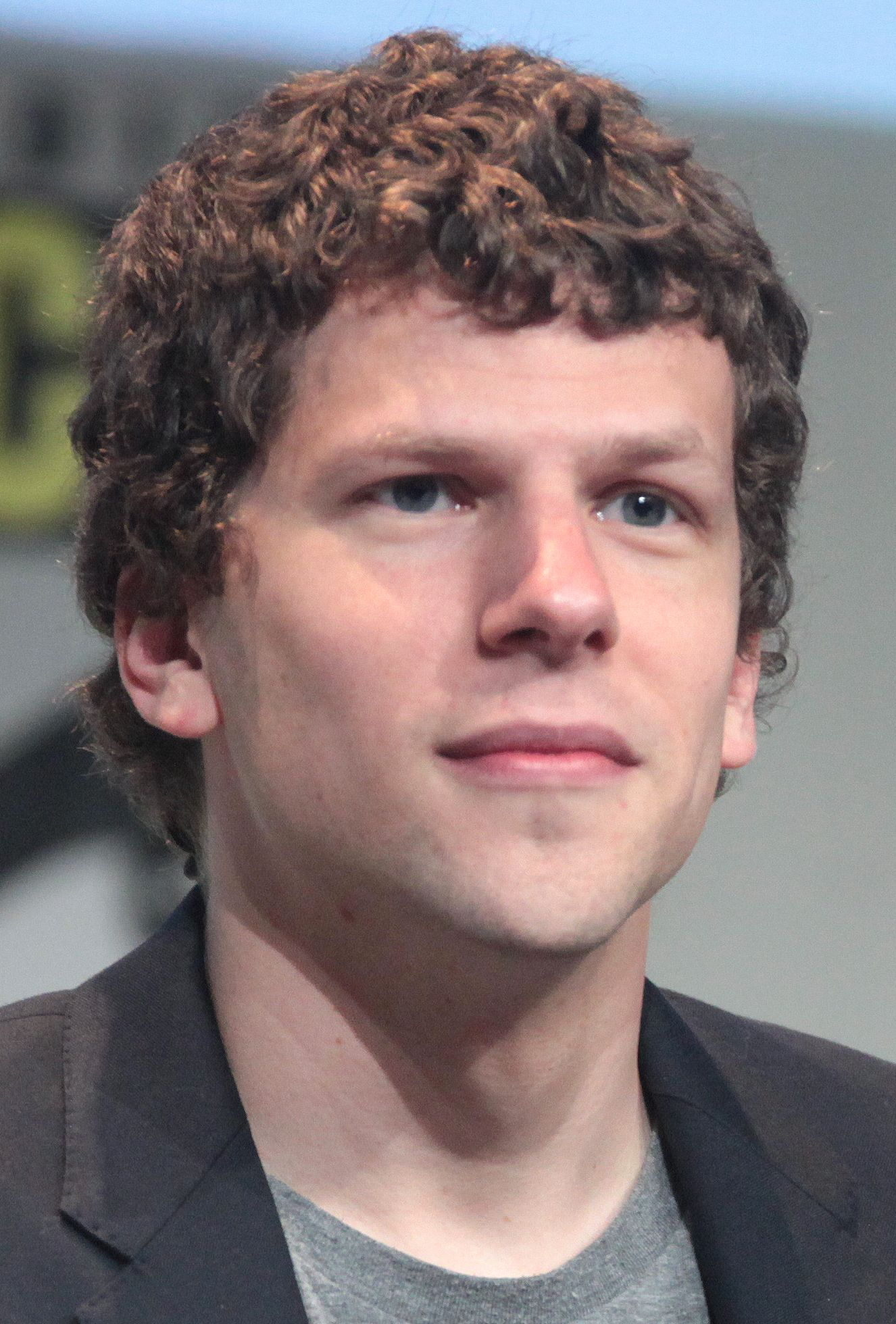 Jesse Eisenberg Contemporary Romance Series Eisenberg Curly Hair Men