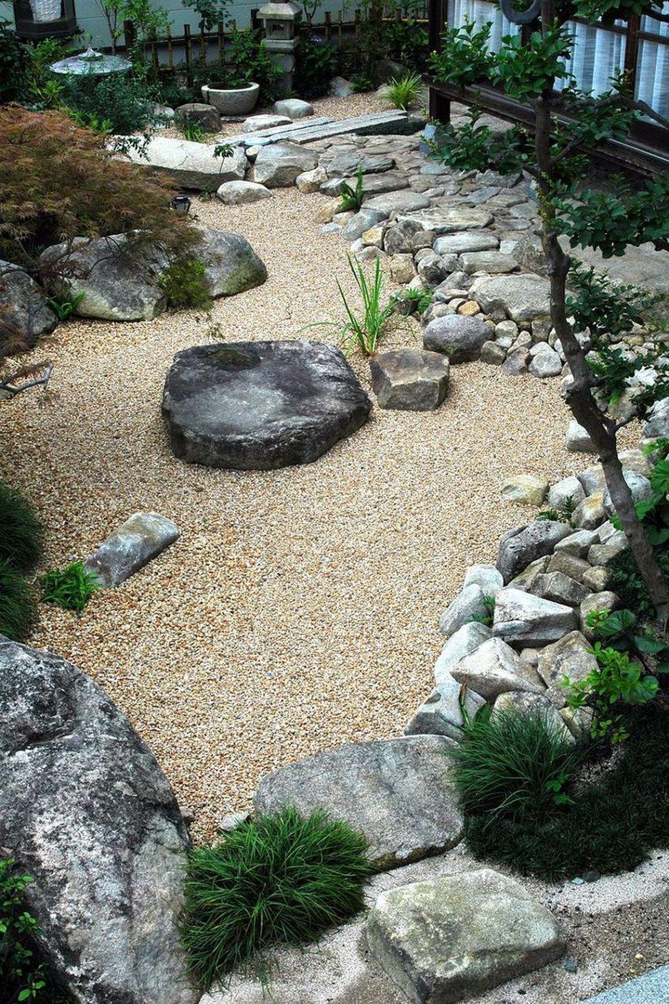 Amazing Modern Rock Garden Ideas For Backyard (15) | Zen ...