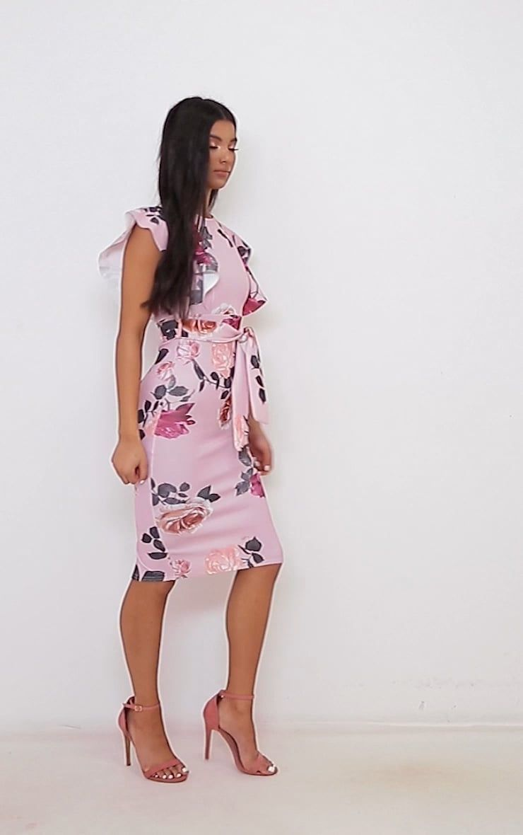 62991ac0f7f6 clw2372.mp4 Dusty Pink, Strappy Heels, Passion For Fashion, Floral Prints,