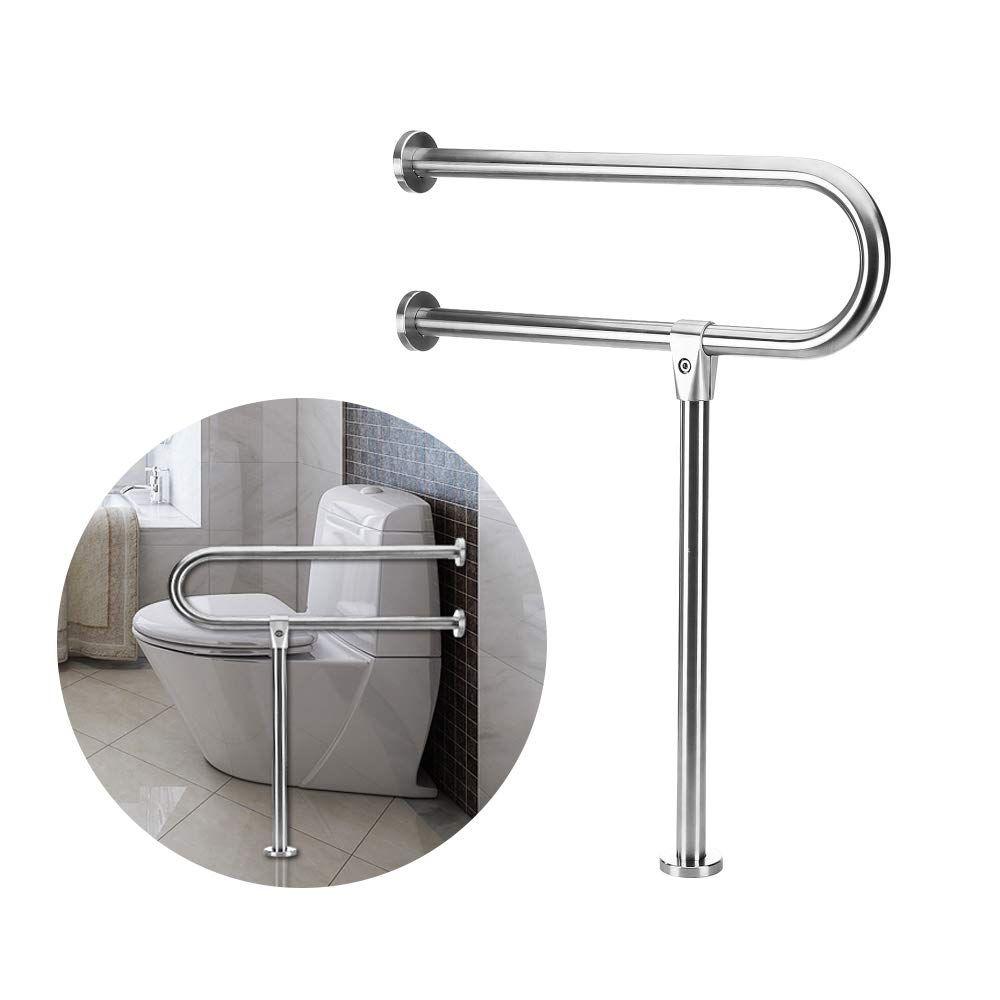 Handicap rails grab bars toilet rail bathroom support for