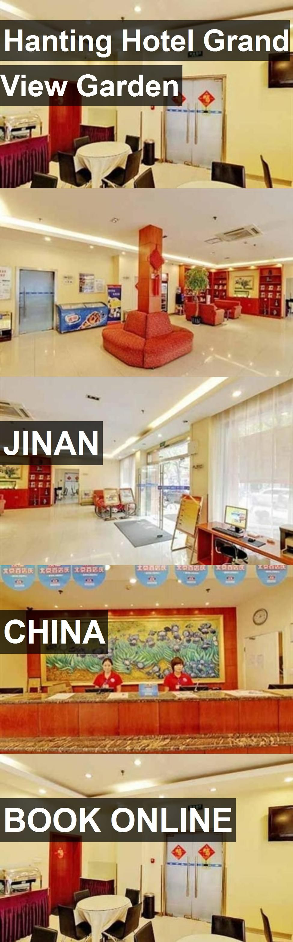 Hanting Hotel Grand View Garden in Jinan, China. For more information, photos, reviews and best prices please follow the link. #China #Jinan #travel #vacation #hotel