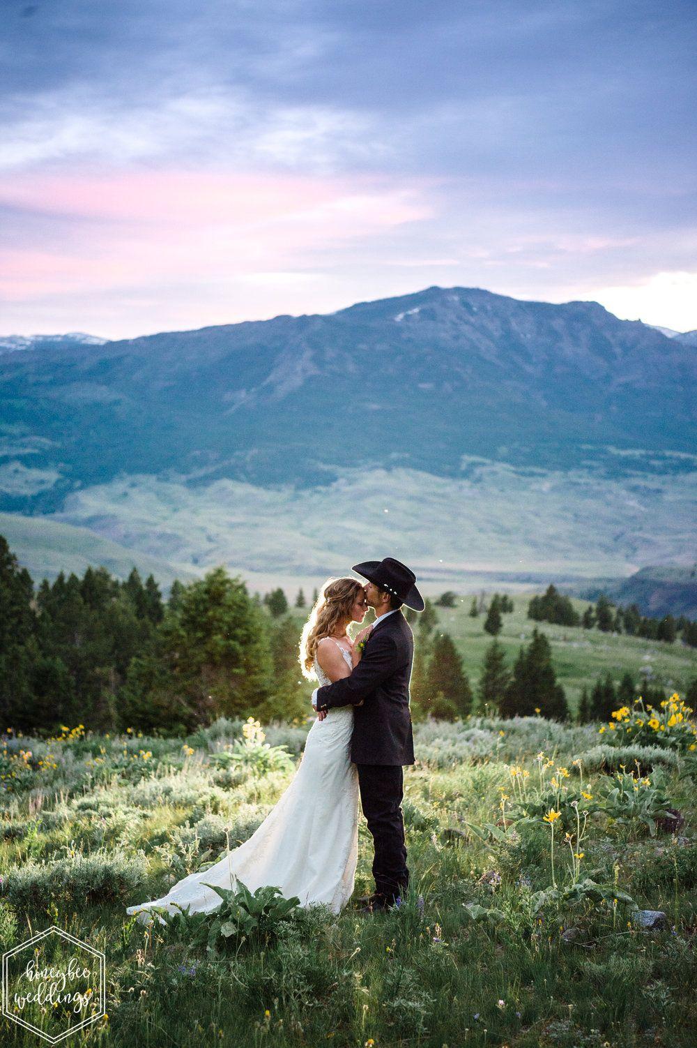 Yellowstone National Park Wedding National Park Wedding Mountain Wedding Photos Park Weddings