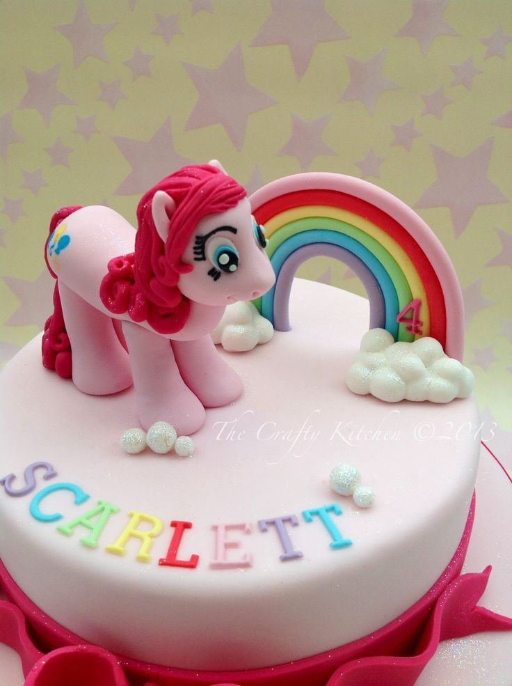 My Little Pony Princess Luna 7 Inch Edible Image Cake /& Cupcake Toppers//Birthday