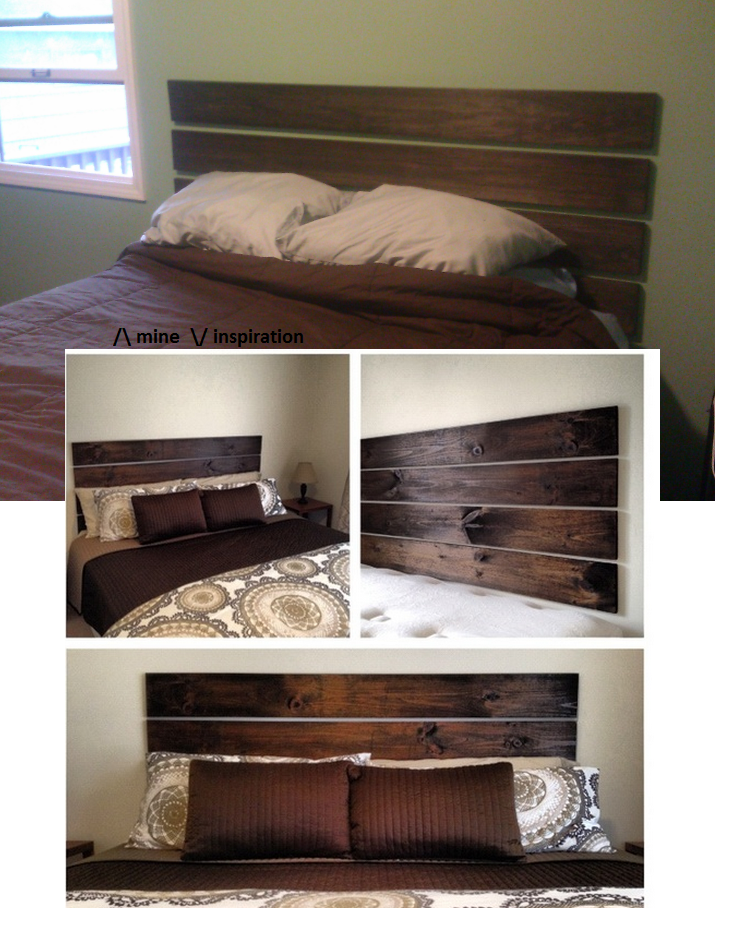 This Was My Attempt At A Headboard Using Command Strips