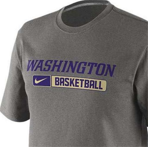 New Mens Nike Dri Fit University of Washington Huskies Basketball T Shirt |  eBay