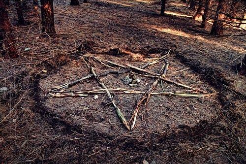 ground pentacle