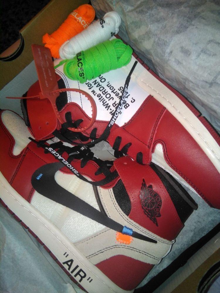 timeless design 5fdf2 49f45 Nike Air Jordan 1 Chicago Retro High OG Off White SIZE 12 ...