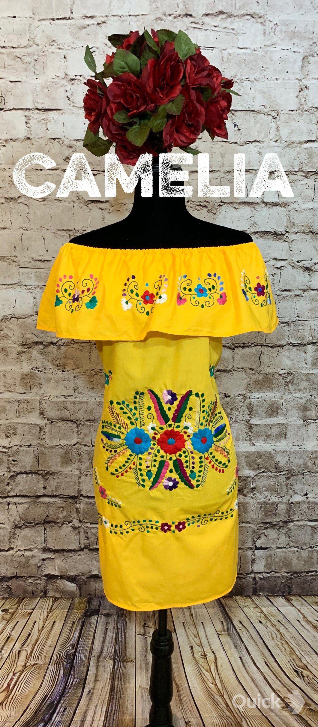 Off Shoulder Puebla Mexican Dress Mini Mexican Dresses Traditional Mexican Dress Mexican Theme Dresses [ 2423 x 1060 Pixel ]