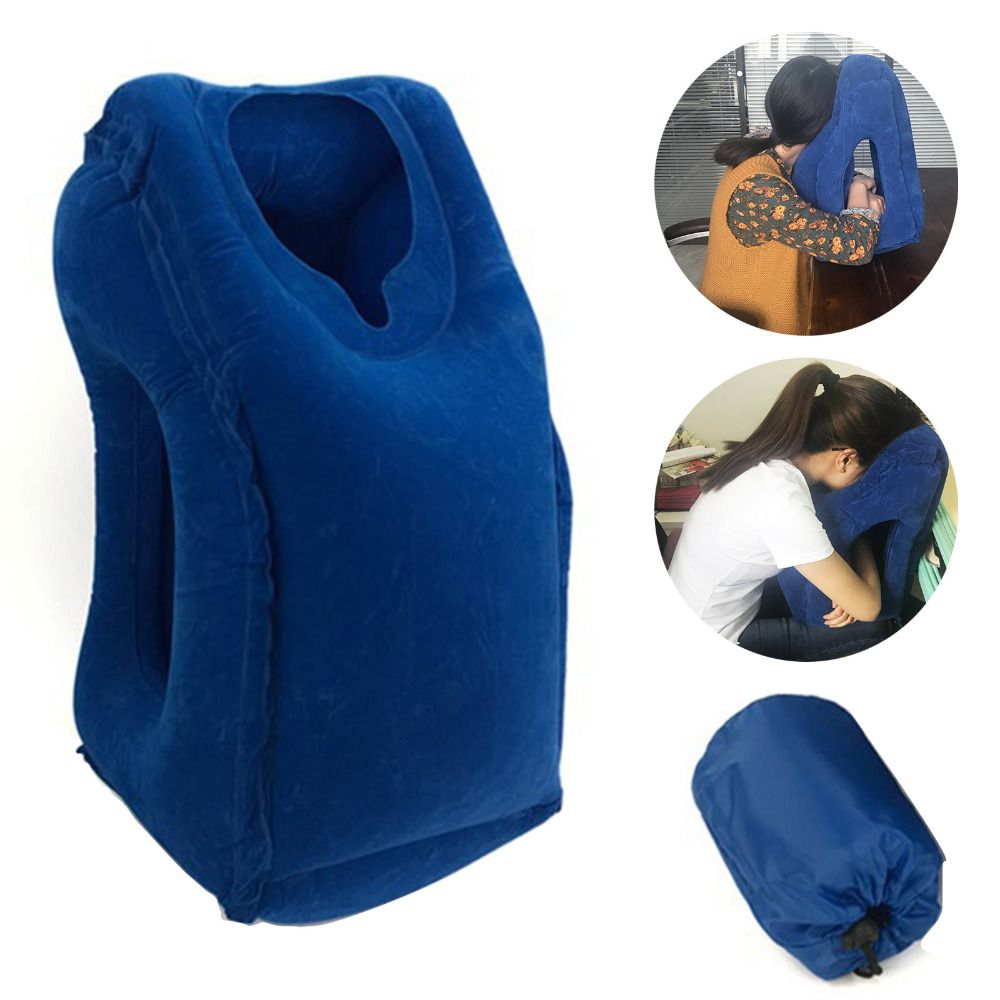 colors inflatable airplane chin head support travel pillow price
