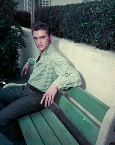 The image is one thing and the human being is another. It's very hard to live up to an image, put it that way. Elvis Presley