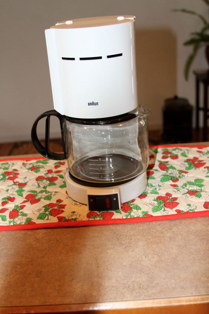 BRAUN Aromaster 10 Cup Coffee Maker KF 400 Type 408 Braun