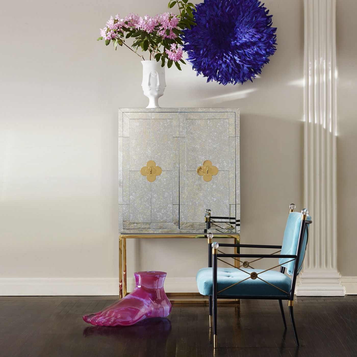 Jonathan Adler | Interior design trends for 2015 #interiordesignideas #trendsdesign For more inspirations: http://www.bykoket.com/news/category/interior-design