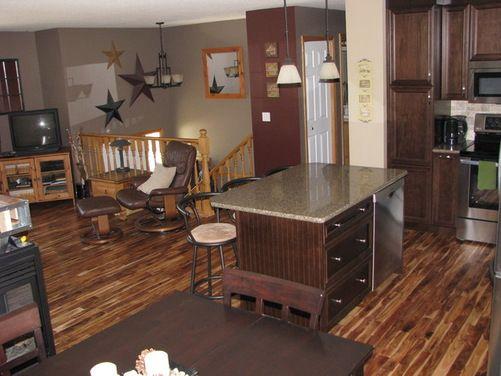 Should I Change Out The Oak Trim Houzz Split Foyer Remodel Oak Trim Home Remodeling