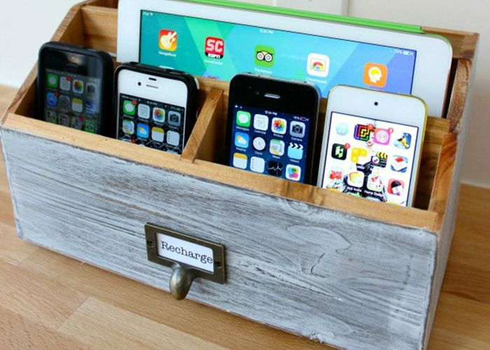 Make Your Own Diy Charging Station With Images Charging