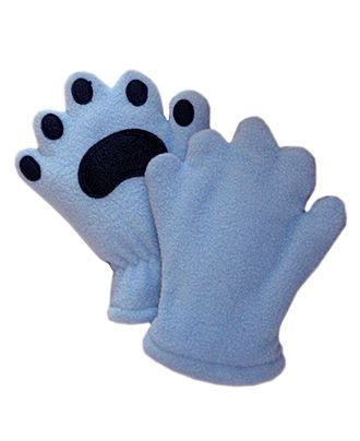 Baby or Toddler BearHands Fleece Paw Mittens