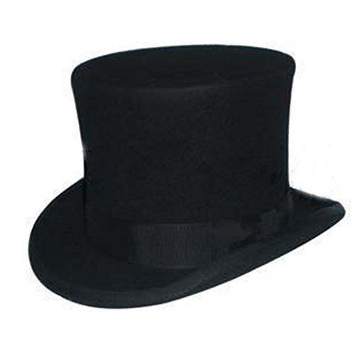Wool Unique Top Hat Magic Hat Cap Fashion Mad Performing Cotton 100/% Hatter Vivi