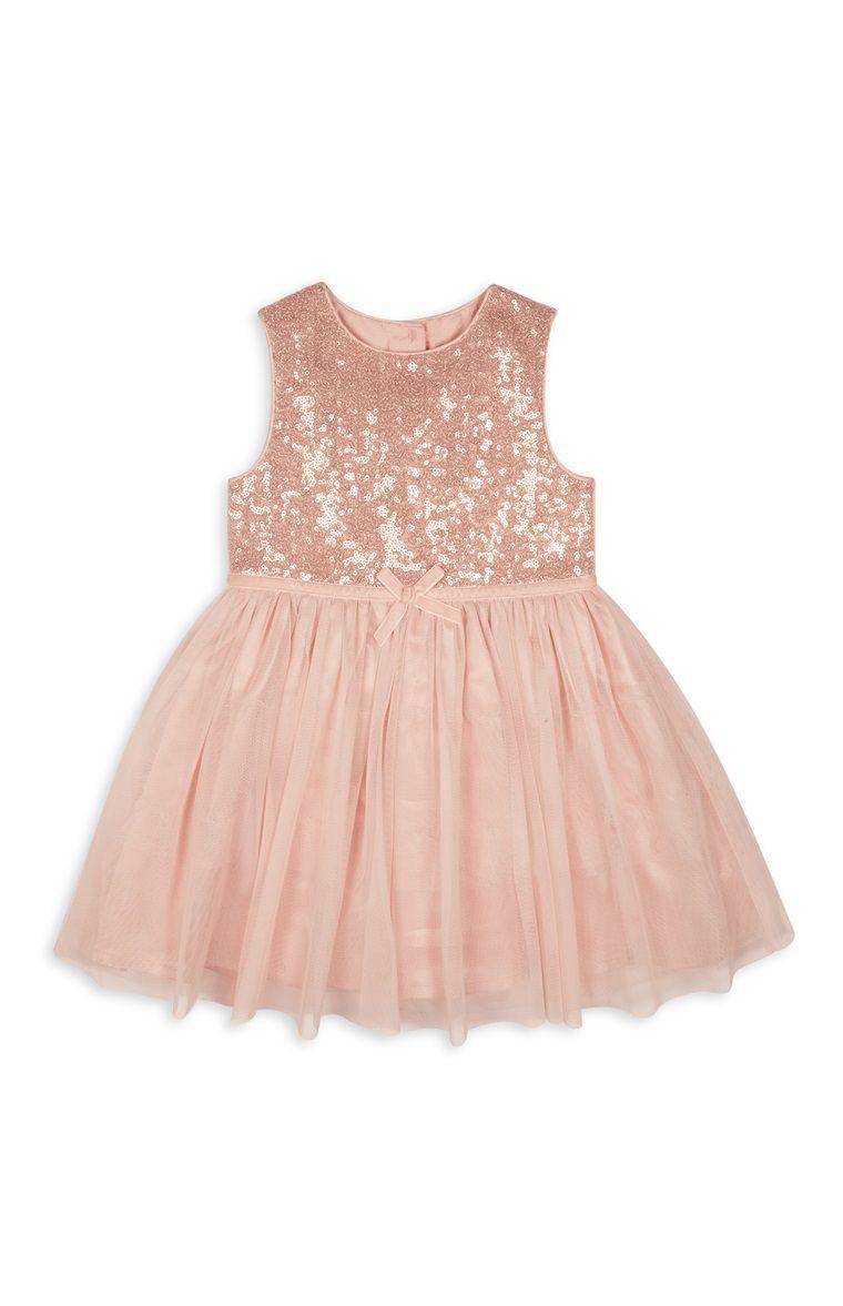 Baby girl pink sequin dress - Primark Roze Babyjurkje Met Pailletten Primark Kidspink Sequin Dresskids Fashionsequinsbaby Girlsbabies