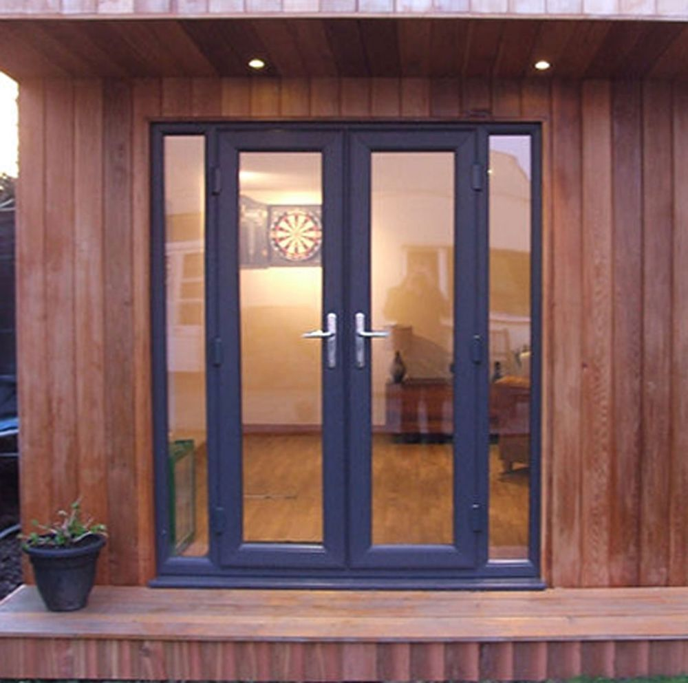 Grey Upvc French Doors New Made To Measure On 17th Upvc French Doors External French Doors French Doors Exterior