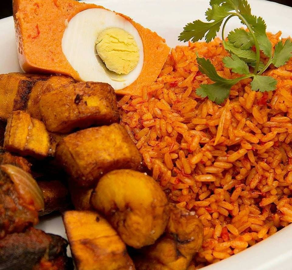 Pin By Nigerian Foodies On Nigerian Foods Nigerian Food Food Jollof Rice