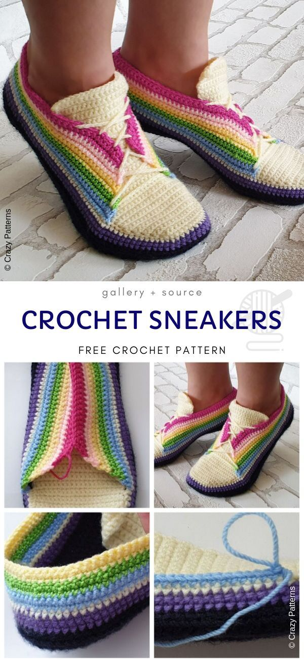 Cute And Comfy Crochet Home Slippers - Pattern Center