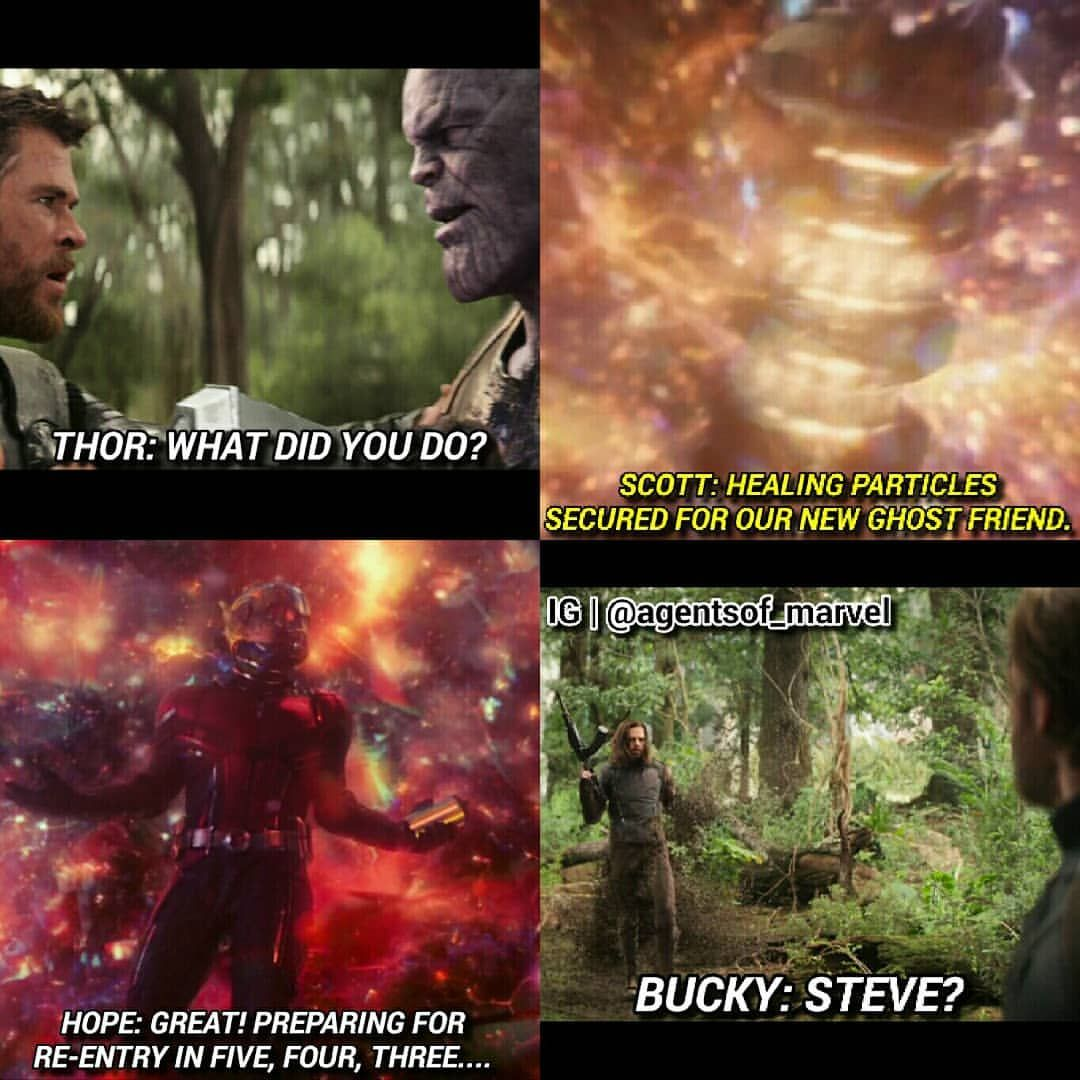 What Was Happening In Infinitywar During Antman Thewasp Loki