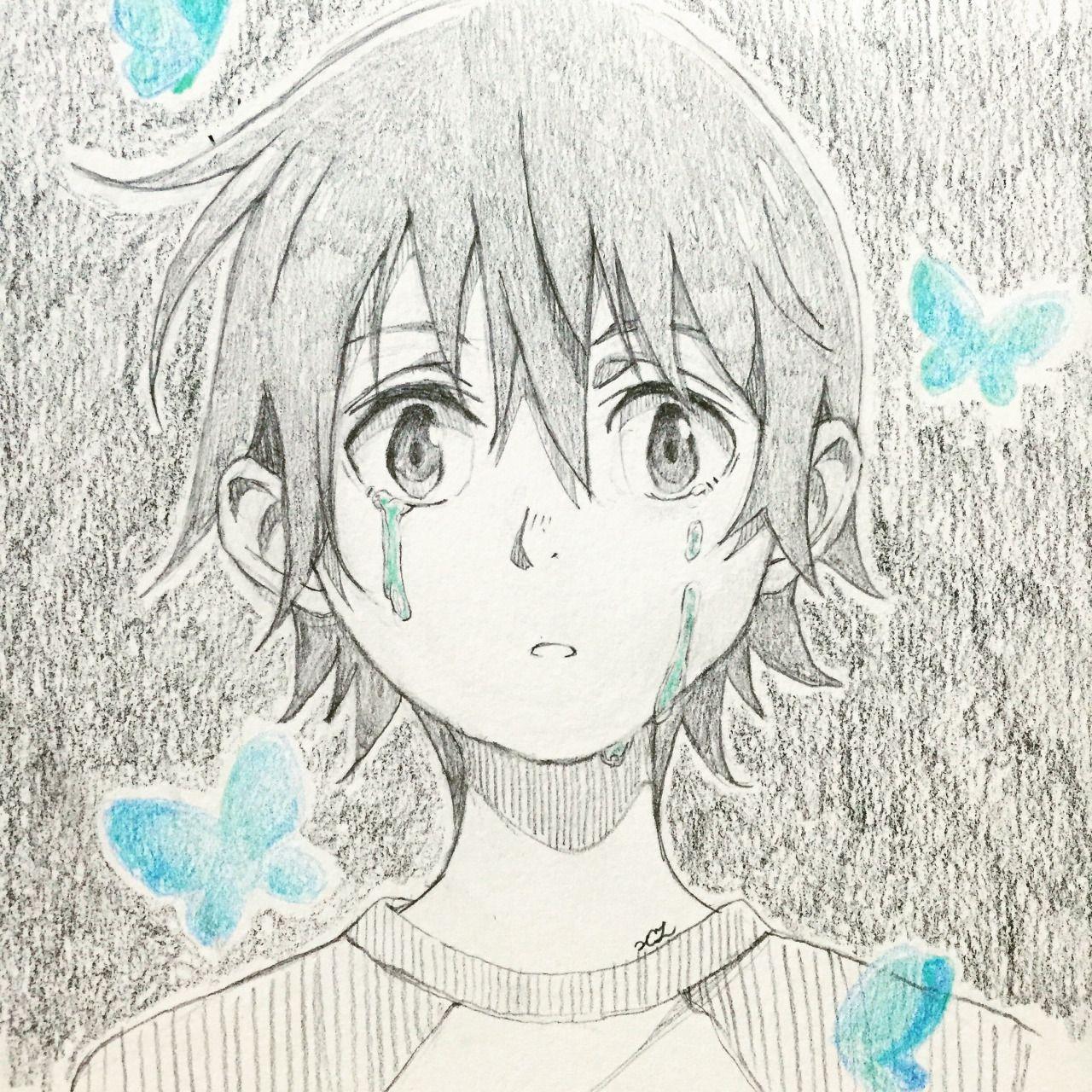 Boku Dake Ga Inai Machi Erased Satoru Fujinuma Anime Manga Anime Anime Sketch