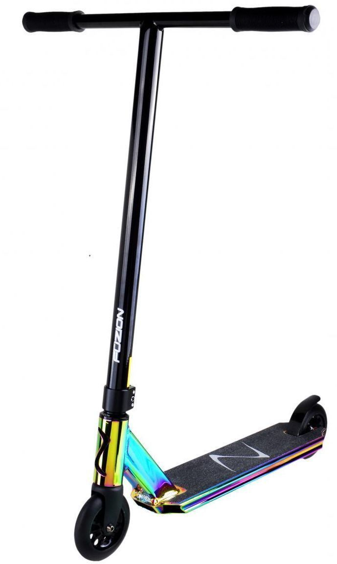Fuzion Z250 Pro Complete Kick Scooter Neo Chrome Oil Slick