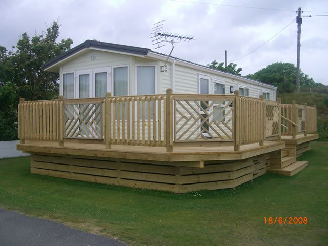 Decking   Lodge Decking   Mobile Home Decks   Cornwall And Devon .