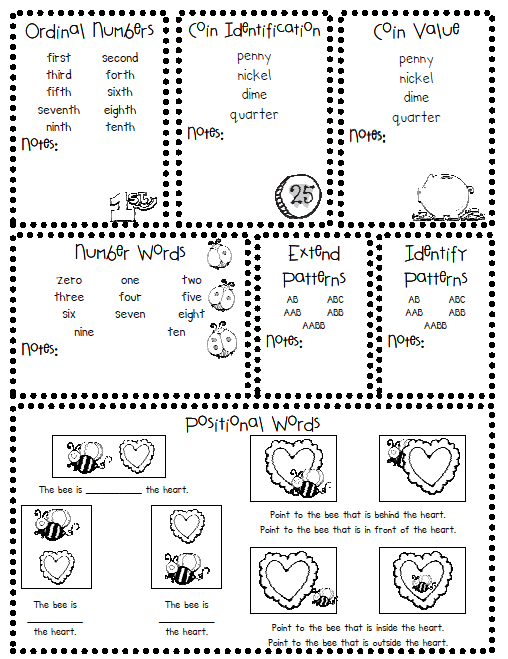 Punchy image with regard to kindergarten assessment tests printable