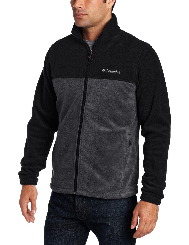 Columbia Men S Steens Mountain Front Zip Fleece Jacket Winter Outfits Men Mens Fleece Jacket Jackets [ 1500 x 1154 Pixel ]