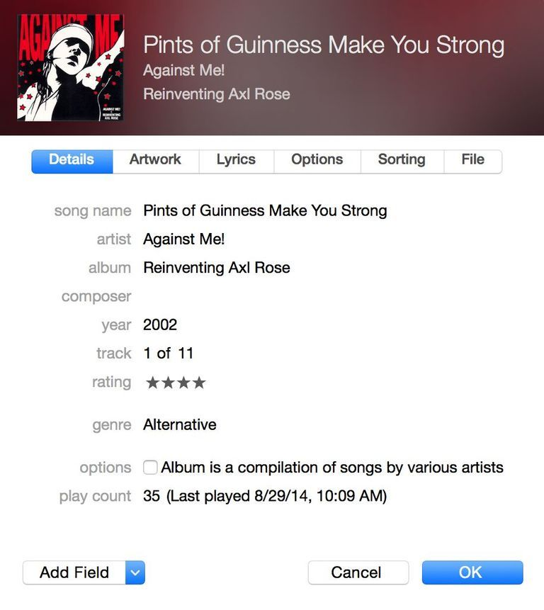 Easily Edit Artist Names And Other Song Info Id3 Tags In Itunes Songs Itunes Album
