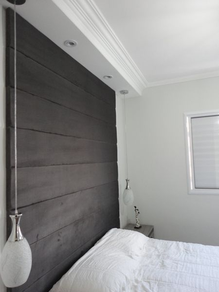 Sanca madeira teto