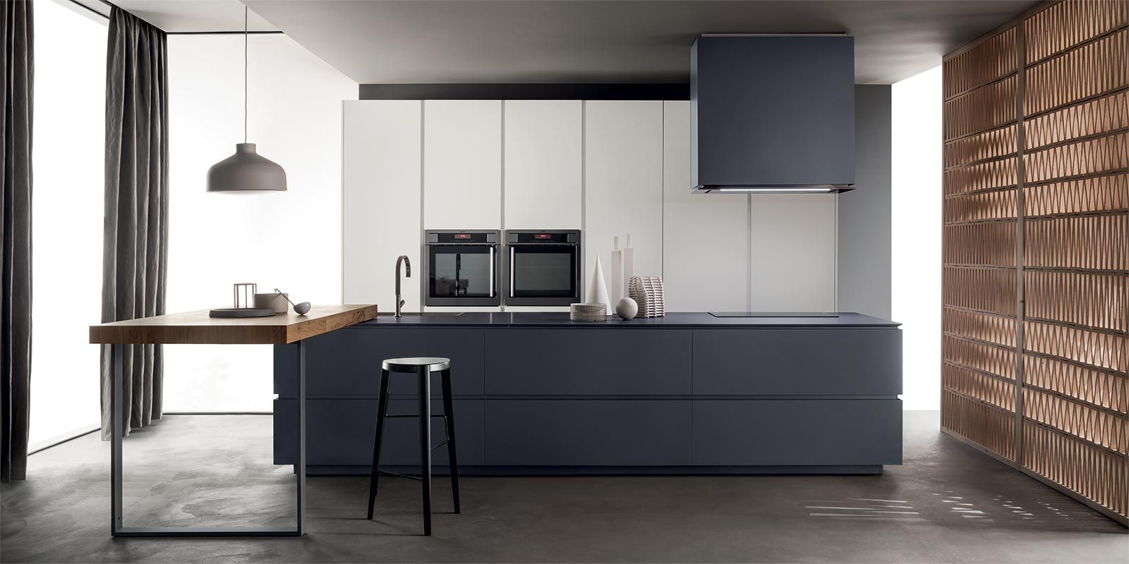 Cucine Obliqua - Cucine Moderne di Design - Ernestomeda | Cocinas ...