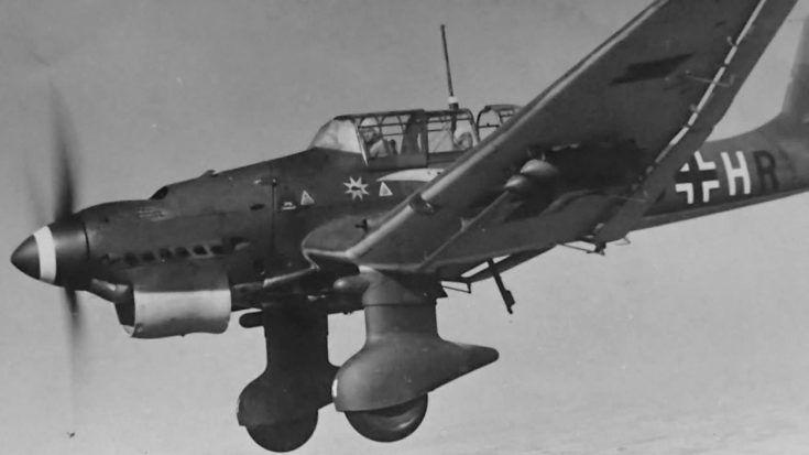 Loud Traumatic Howl Of The Ju-87 Stuka Siren   World War Wings Videos
