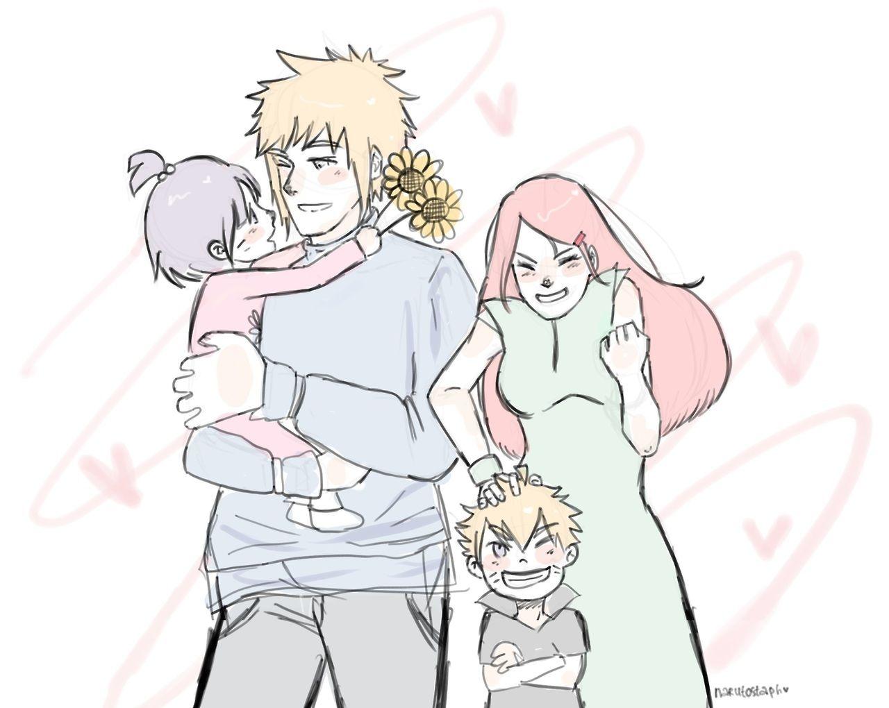 Anime Grandparents Grandparents Minato, K...