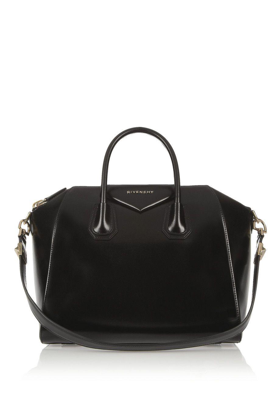 Givenchy | Médio Antigona bag em couro preto | NET-A-PORTER.COM