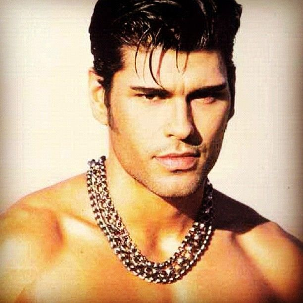 Mike Ruiz during his modeling days in the mid 1990s.