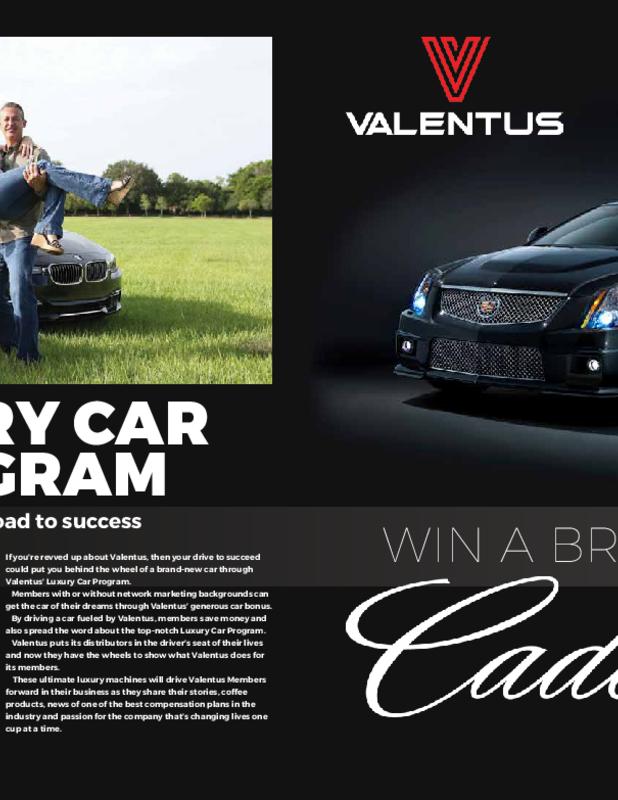 Luxury Car Program Get Your Dream Car! Share Valentus