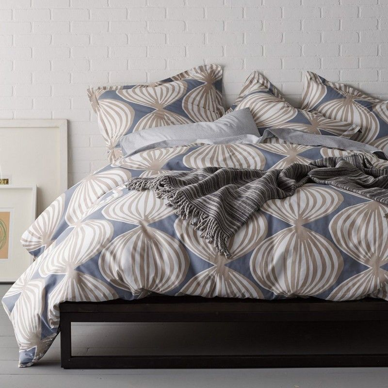 Ludlow Percale Duvet Cover The Ludlow Bedding Offers A