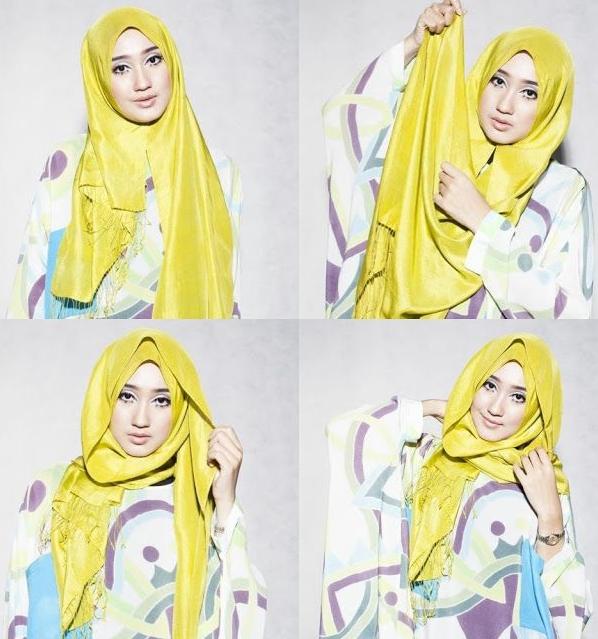 Wow Ini Dia Tutorial Hijab Pashmina Dian Pelangi Untuk Wisuda Dan Pesta Kursus Hijab Tutorial Hijab Pashmina Jilbab Sederhana
