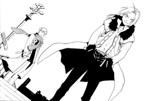 Elric Brothers by Hiromu Arakawa  34c776ae11e