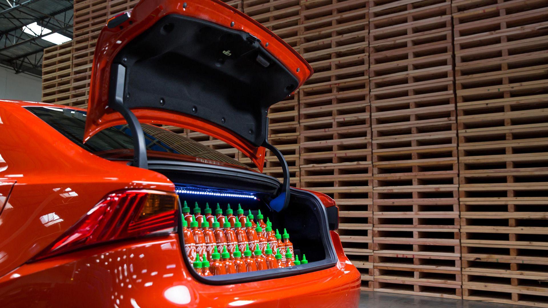 Sriracha Lexus Is