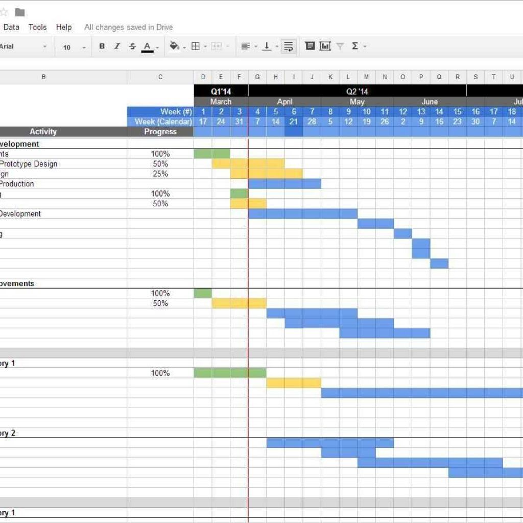 Project Management Spreadsheet Excel Template Free Useful