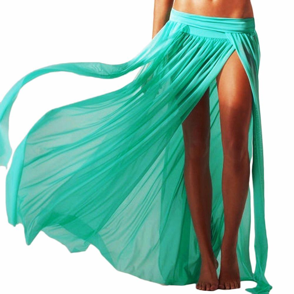 15299d892cb26 Only $14.97 - Awesome Lady Women Sexy Chiffon Summer Beach Dress Swimwear  Cover Up Sarongs Bikini Scarf Tunic Wraps Long Dress Swimsuit New Style -  Buy it ...