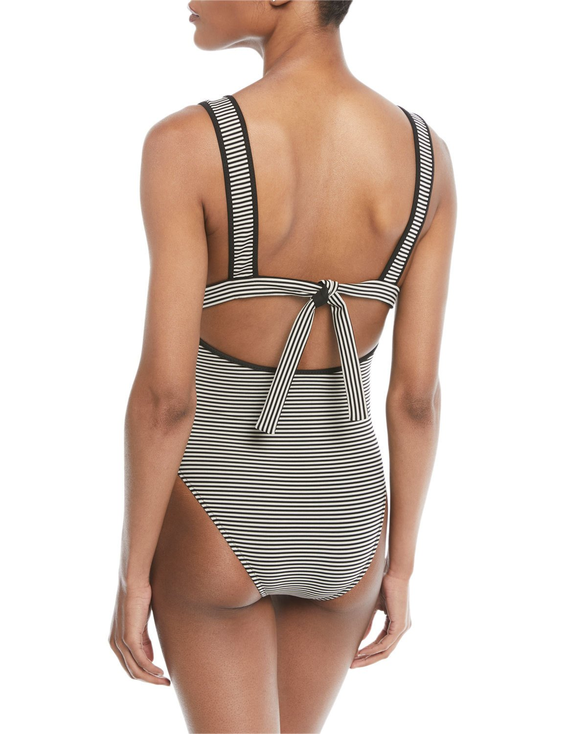 f3c18551bf2 Marysia Nassau Striped Maillot Swimsuit | Products | Swimsuits, One ...