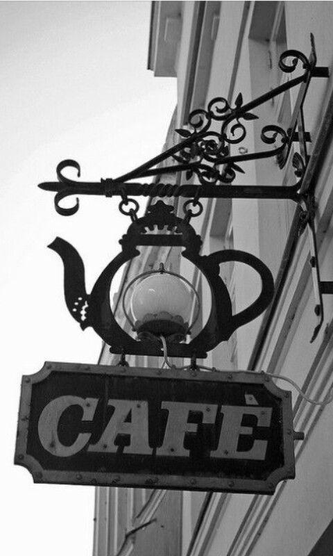 Original Letrero Cafe Sign Coffee Shop Design Vintage Coffee