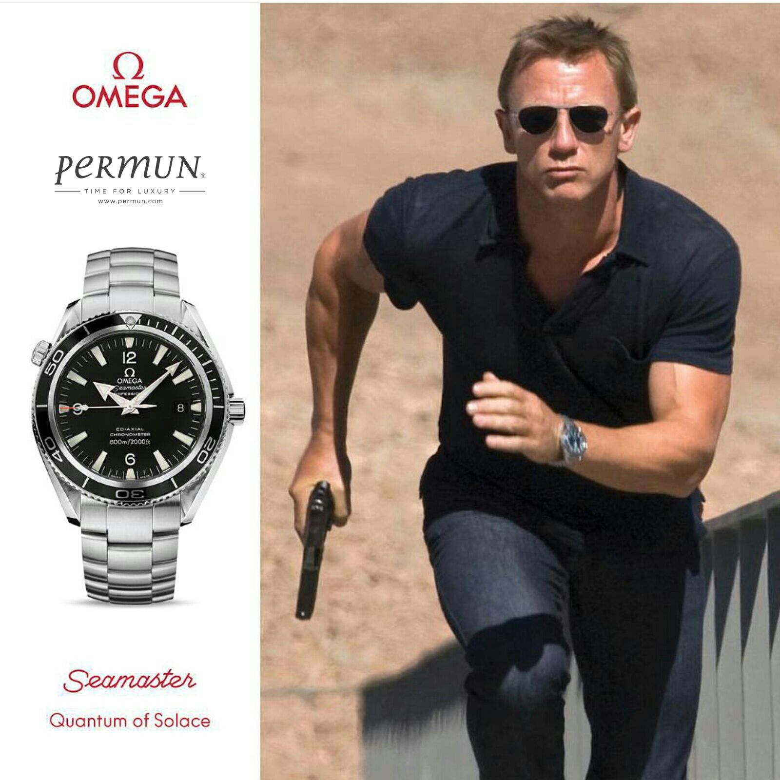 Omega Seamaster Quantum Of Solace Www Permun Com Tel 0 224 241 31 31 Omega Hediye Yeniyil Yilbasi Luxury Men Are From Mars Omega Photo And Video