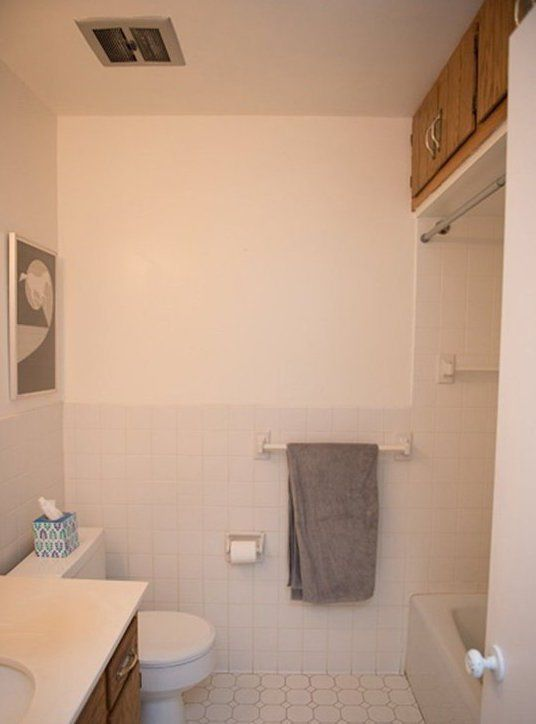 Before After The Renovation Diary Reveal Of Karin Jeff S Bathroom Apartment Therapy Genius Remodel