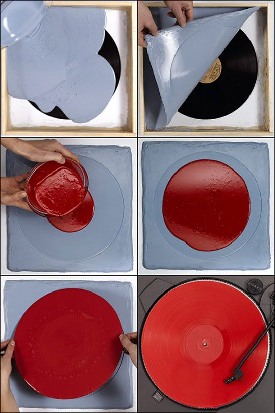 How people pirated vinyl records.