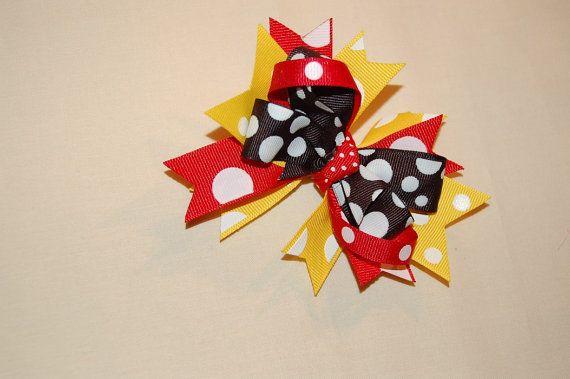 Disney Hair Bow by Luddiebug on Etsy, $5.00